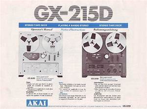 Akai Gx-215d Owner  U0026 Service Manual   Schematics