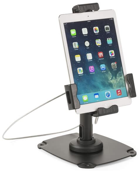 ipad kiosk table mount ipad stand for tabletop or wall technology kiosk w