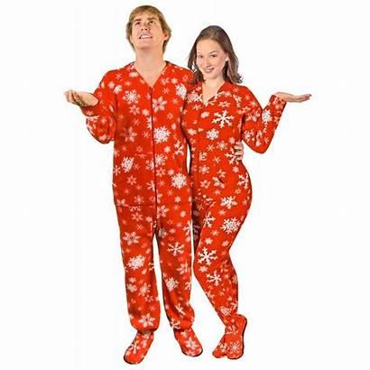 Onesie Drop Adult Seat Fleece Snowflake Pyjama