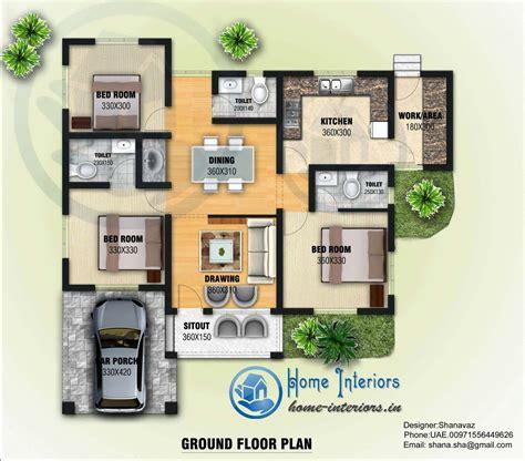 Design Your Home Floor Plan by 3 Bedroom Kerala Home Plan Budget 3 Bedroom Kerala