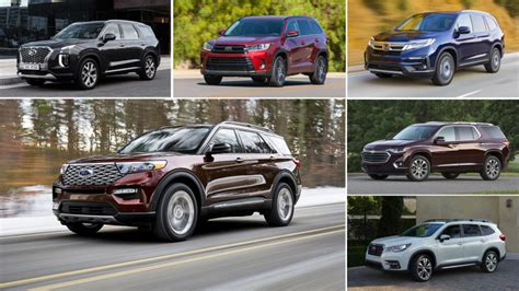 ford explorer   row crossover rivals