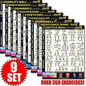 Eazy How To Multi Pack Bundle Exercise Workout Poster Big