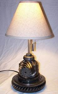 Lamps From Old Car Parts