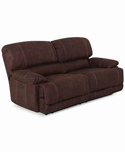 Jedd 2 piece fabric sectional sofa with 2 power recliners for Fabric sectional sofa with power recliner