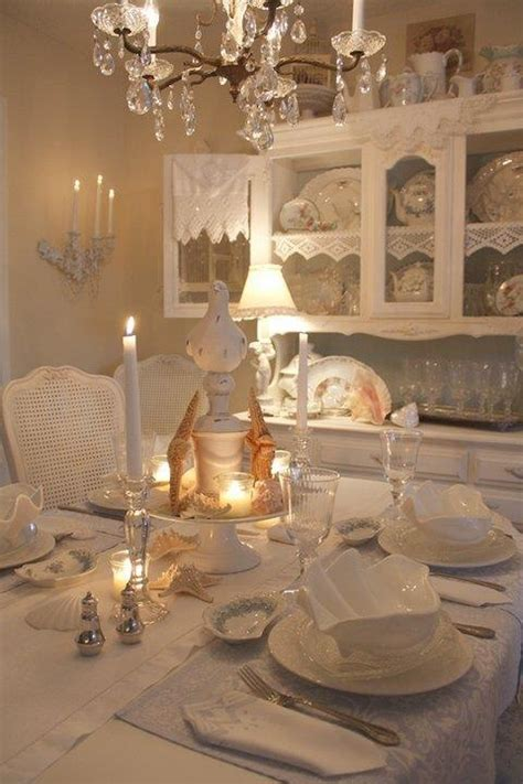 shabby chic dining room ideas white dining room shabby chic and beautiful pinterest