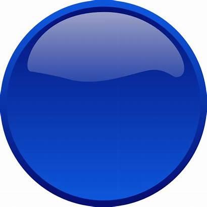 Button Clip Round Clipart Circle Clker Svg