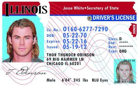 Illinois (il) Drivers License