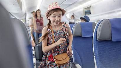 Child Fly Plane Passengers Airplane Airline Pass