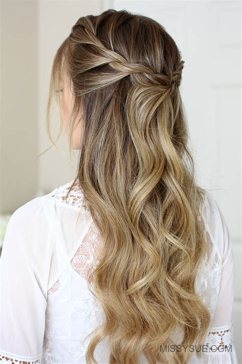 3 easy rope braid hairstyles obsigen