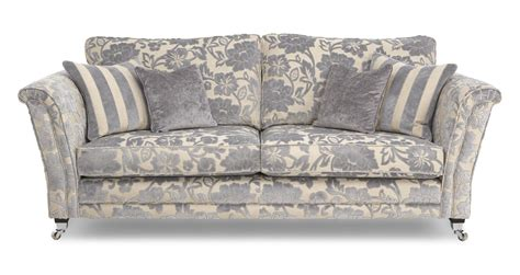 Dfs Fabric Sofa by Hogarth Floral 4 Seater Sofa Hogarth Floral Dfs