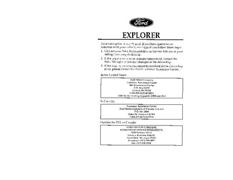 car repair manuals download 1996 ford mustang electronic throttle control 1996 ford explorer owners manual