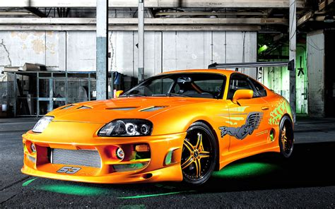 Toyota Supra Sports Car Wallpapers And Resources
