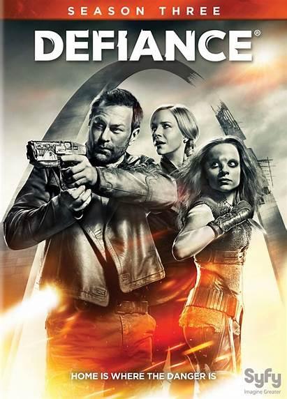 Defiance Dvd Season Tv Series Covers Movies