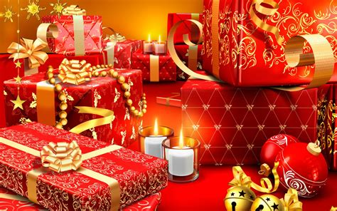 christmas presents wallpapers hd wallpapers id