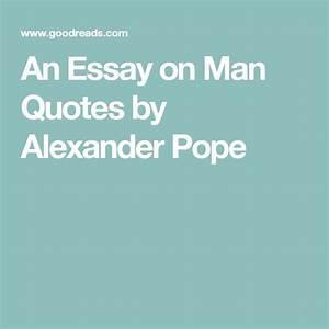 an essay on man epistle 1 summary