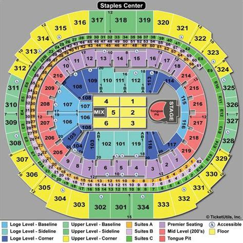 rolling stones seating chart guide    counting concert tickpick
