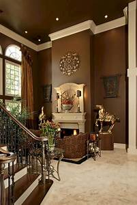 30 awesome brown color scheme ideas for awesome living for Interior paint colors browns