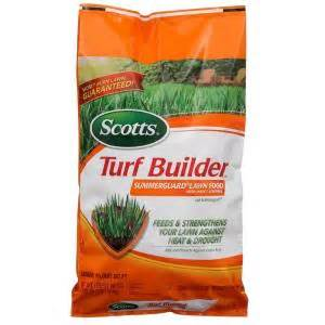 scotts 15 000 sq ft turf builder with summerguard