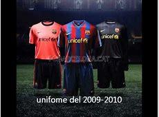 uniformes del barcelona YouTube