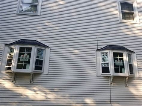 replacement bay windows job plymouth ma marios roofing