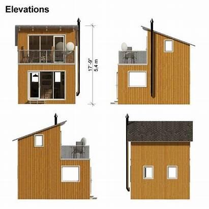 Cabin Plans Contemporary Yvonne Loft Eco Gable