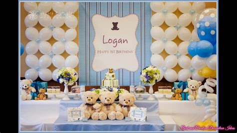 Baby Girl First Birthday Party Decorations At Home Ideas