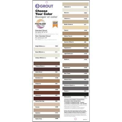 polyblend grout renew colors custom building products polyblend 333 alabaster 25 lb