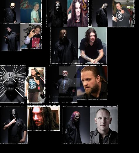 Slipknot Members Unmasked By Ifyour555im666 On Deviantart