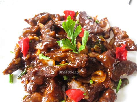 chilly beef indo chinese style recipe