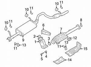 Chevrolet Tracker Catalytic Converter Heat Shield  Rear