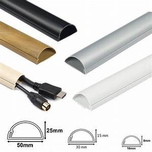 D Line Self Adhesive Trunking Electrical Cable Conduit