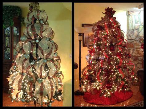 como decoro mi arbol de navidad con cintas viyoutube