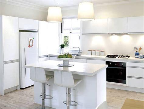 Modern Kitchen Designs Photo Gallery White Interior Mini