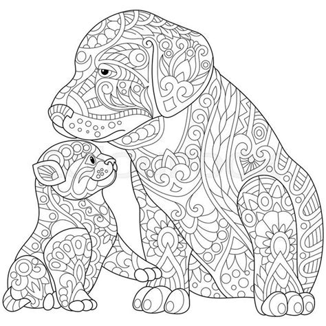 adult coloring pages easy dog easy adult coloring pages mandala puppy  kitten  adult