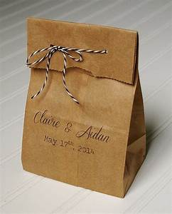 personalized wedding favor bags candy bags kraft paper With personalized wedding gift bags