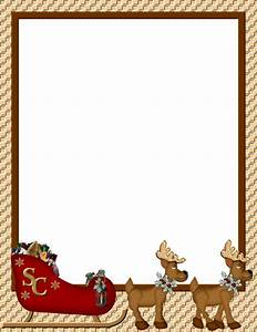 Christmas 1 free stationerycom template downloads for Free christmas border templates