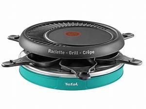 Appareil De Cuisson Multifonction : appareil raclette multifonctions 6 personnes tefal ~ Premium-room.com Idées de Décoration