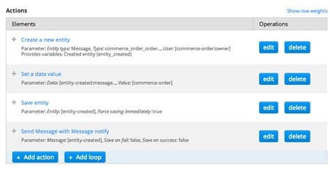 drupal commerce order message template rich email notifications drupal commerce