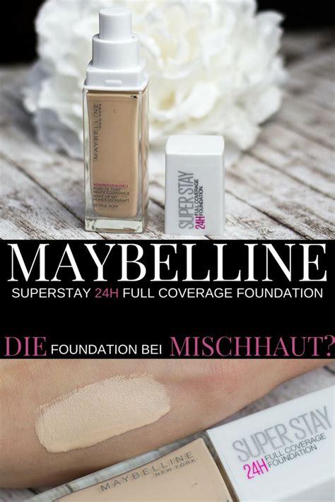 Die Besten 25+ Maybelline Superstay Foundation Ideen Auf