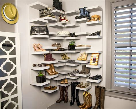 How To Make Shoe Storage Display Shelves How Tos Diy