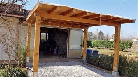 tettoia in legno fai da te tettoia in legno fai da te i consigli per costruirla tetto