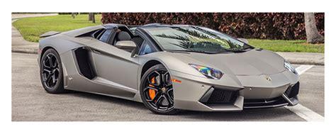 Rent Exotic Car In Miami