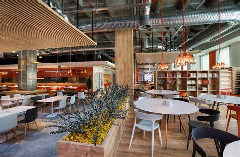 Interesting and Impressive Modern Office Cafeteria Design