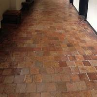 terra cotta tiles Antique French terracotta tiles - 16x16 cm | BCA Antique Materials