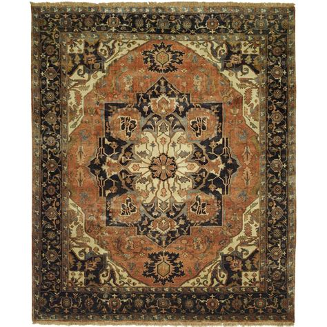 Wool Rugs by Size 10 0 Quot X14 0 Quot Serapi Collection Knotted Wool Rug