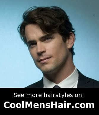 matt bomer hairstyles cool male layered hairstyles