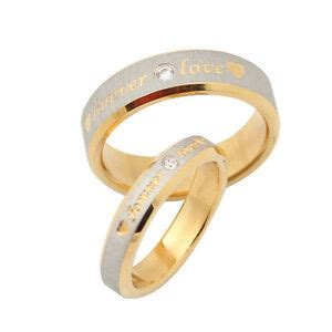 personalized name ring engagement ring titanium promise rings gold custom ebay