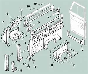 Land Rover Series Ii  Iia   U0026 Iii Bulkhead Repair Panels