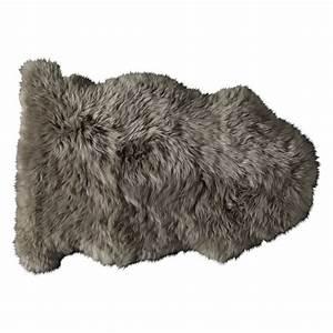 tapis en peau de mouton beige 55 x 90 cm maisons du monde With tapis en mouton