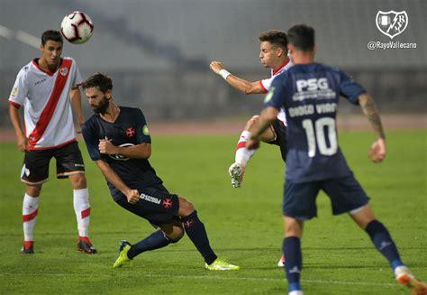 Crónica: Os Belenenses 1-1 Rayo Vallecano - Unión Rayo